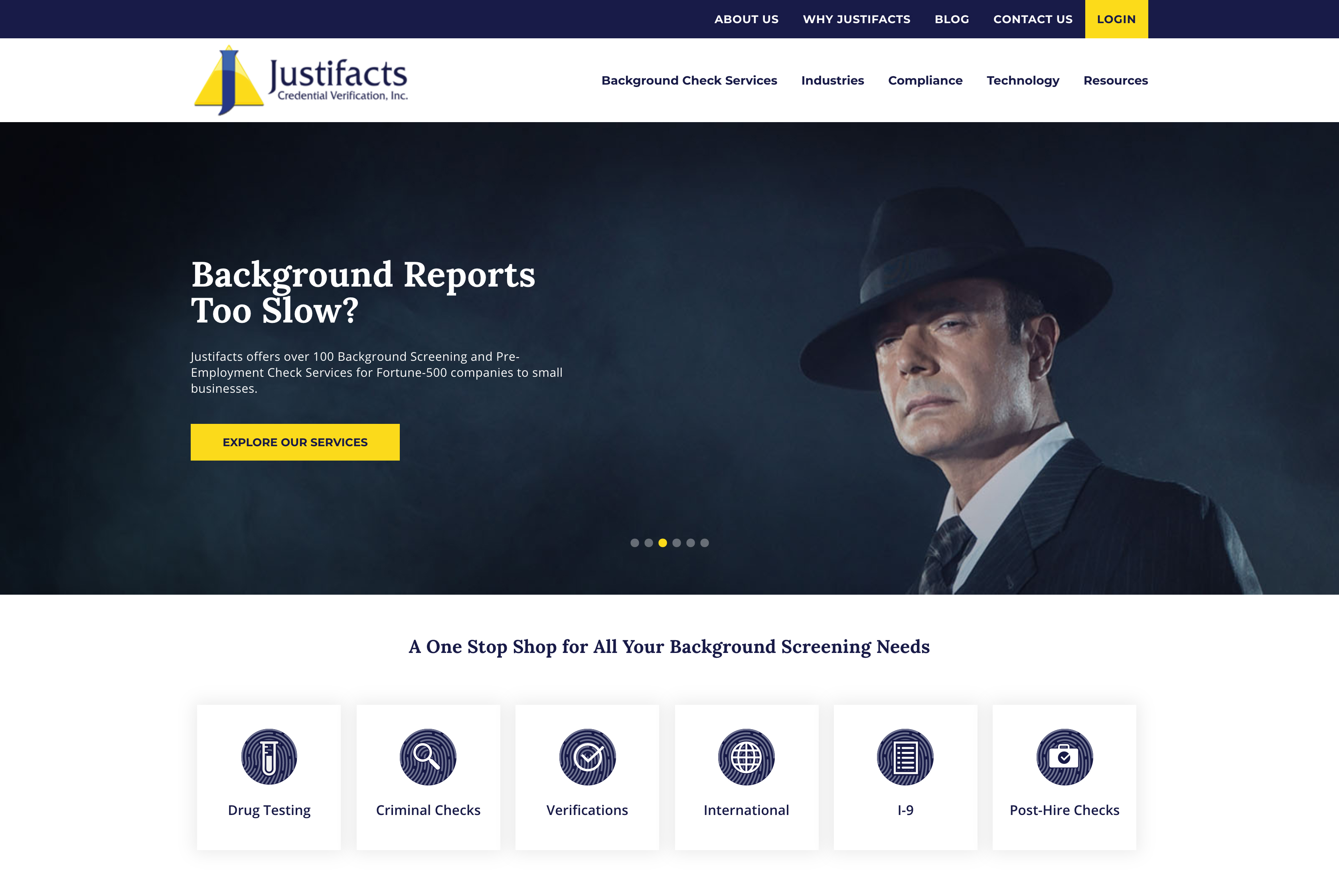 Justifacts Website